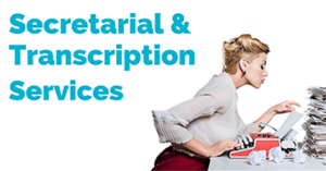 Secretarial-and-transcription-services-
