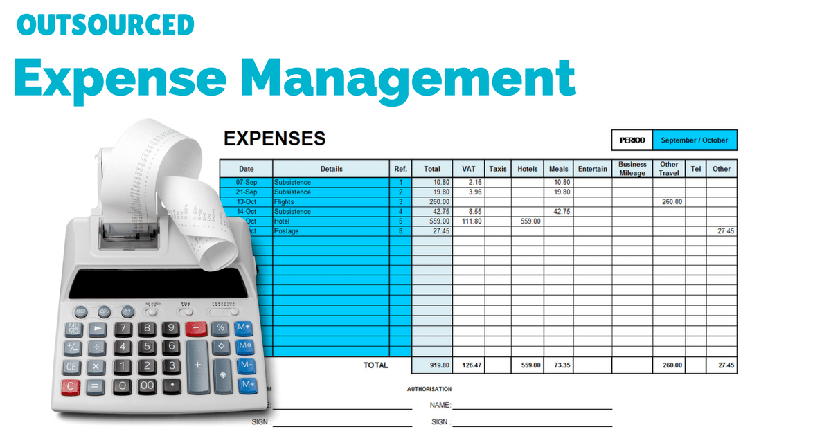 outsource expense management |© one-resource.com