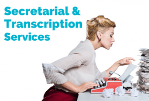 secretarial and transcription services 2