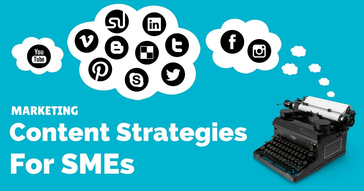 Marketing content strategies for small business