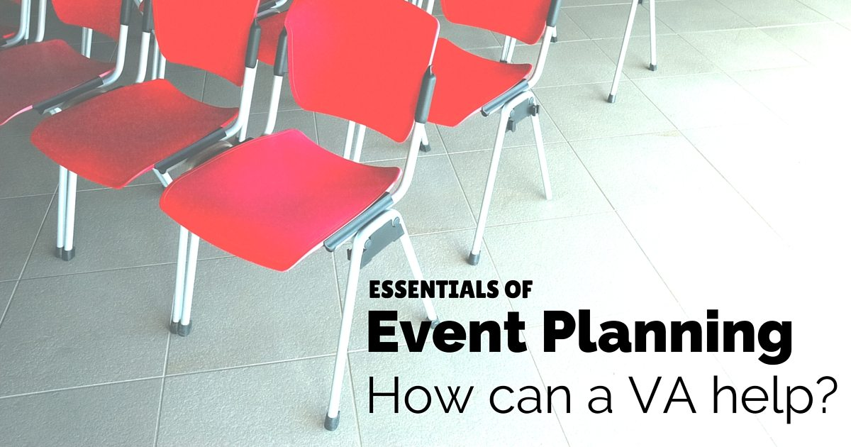 Essentials of event planning - how a virtual assistant can help | © Oneresource