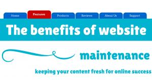 The benefits of website maintenance