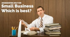 Bookkeeping help for small business which solution is best for you