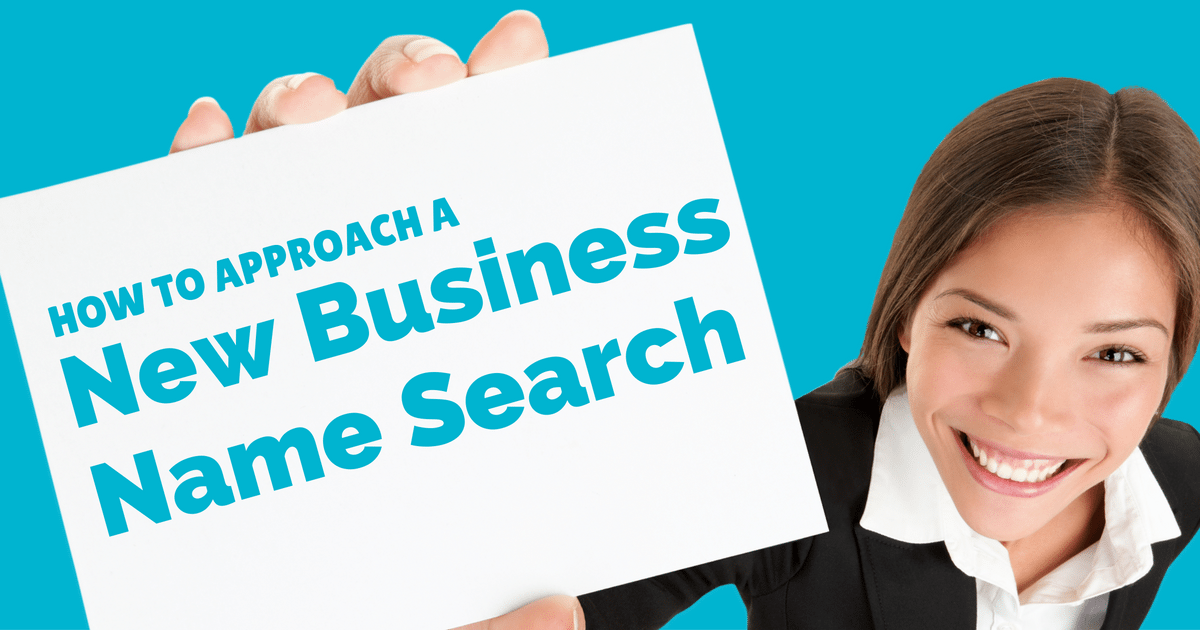 How to approach a new business name search | © Oneresource