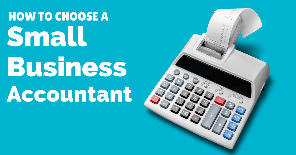 Accountants for small businesses - How to choose one | © Oneresource