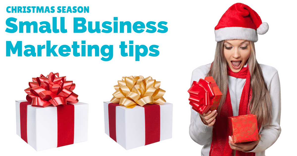 Christmas season marketing - tips for small businesses | © Oneresource