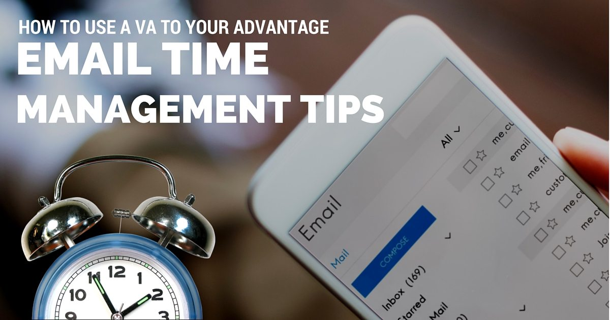 Email time management tips- How to use a virtual assistant to your advantage | © Oneresource