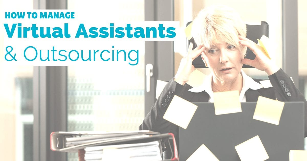 How to manage virtual assistants and outsourcing services | © Oneresource