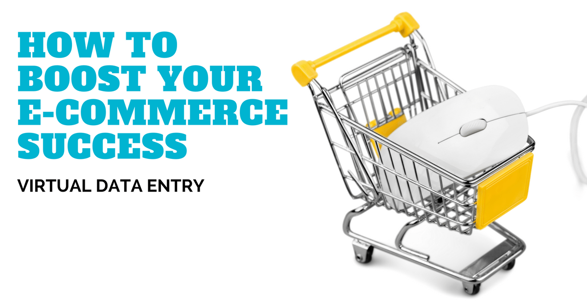 Boost your ecommerce success with virtual product data entry services