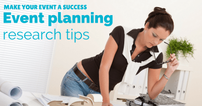 Event planning research How to make your event a success