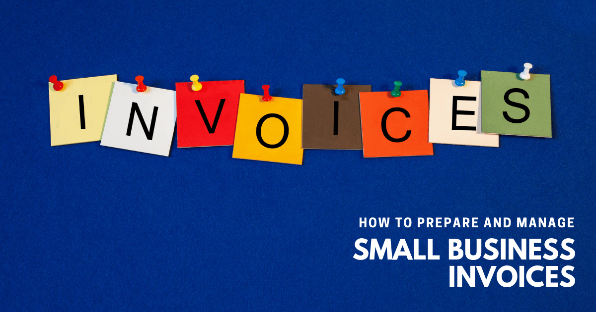 How to prepare and manage invoices