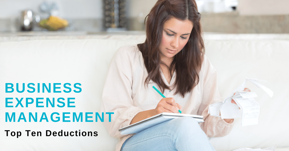Small Businesses Expense Management – Top Ten Deductions