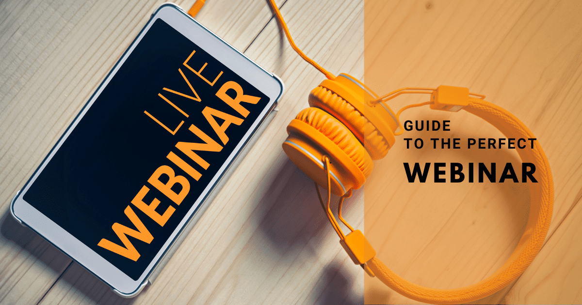 The online event planner guide to the perfect webinar