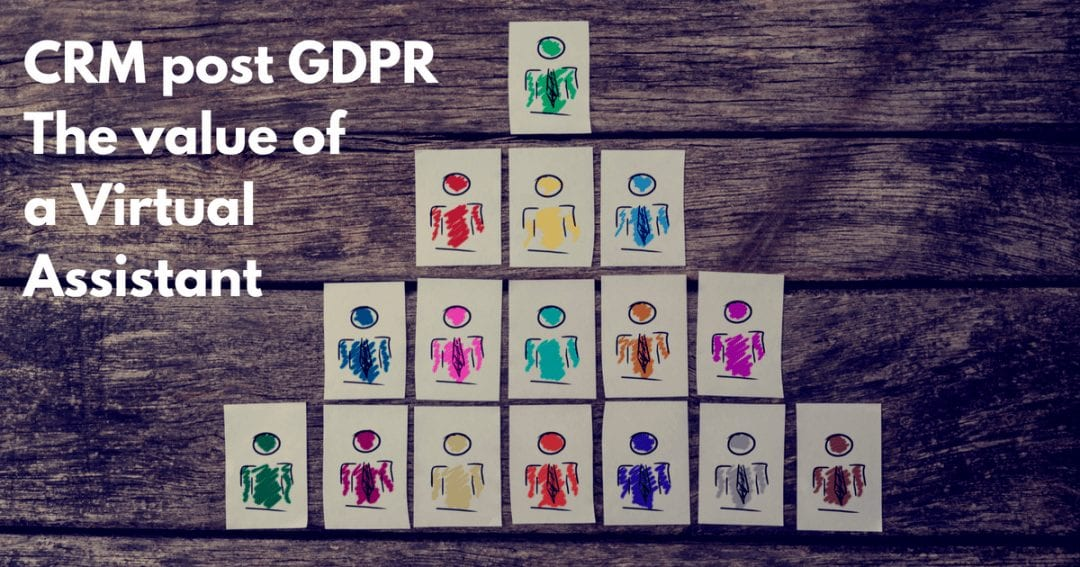 The true value of a virtual assistant – CRM management after GDPR | © one-resource.com