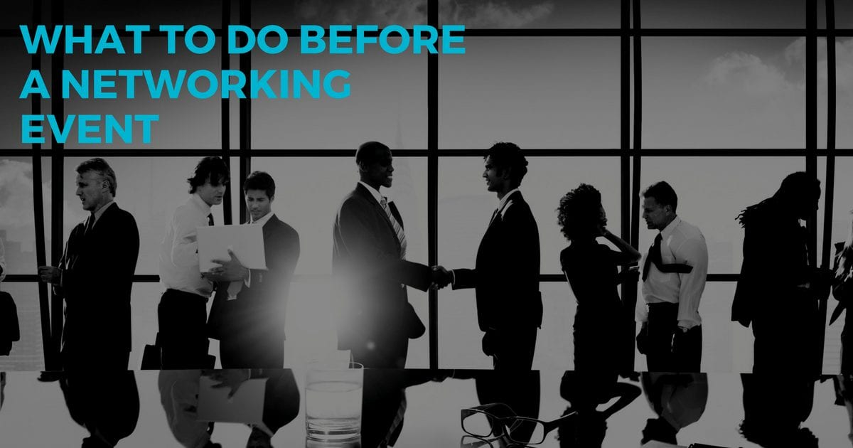 Virtual Assistant service tips: What to do before a networking event