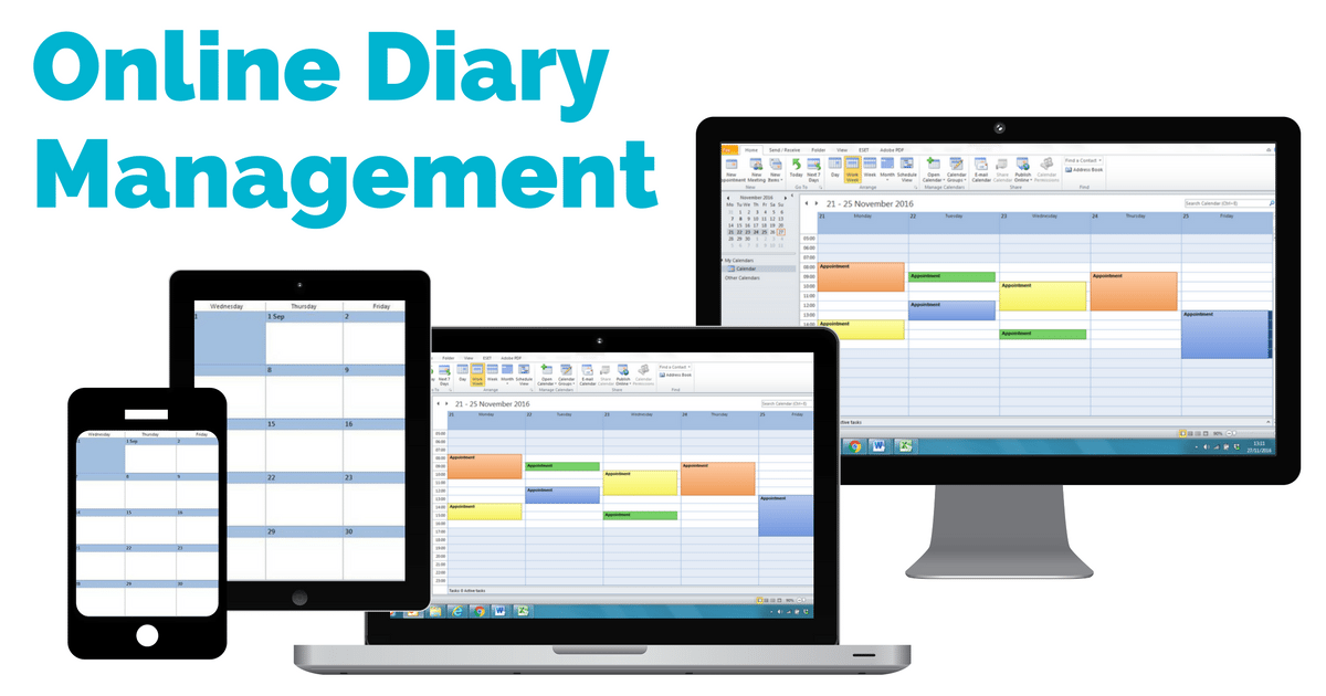 Virtual assistant diary planner | © one-resource.com