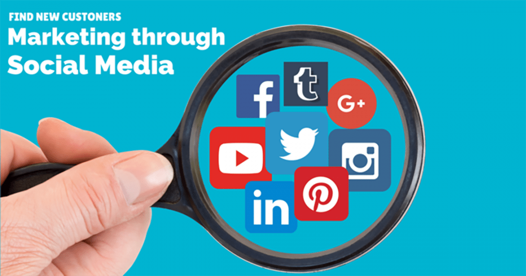 Find new customers – marketing business through social media