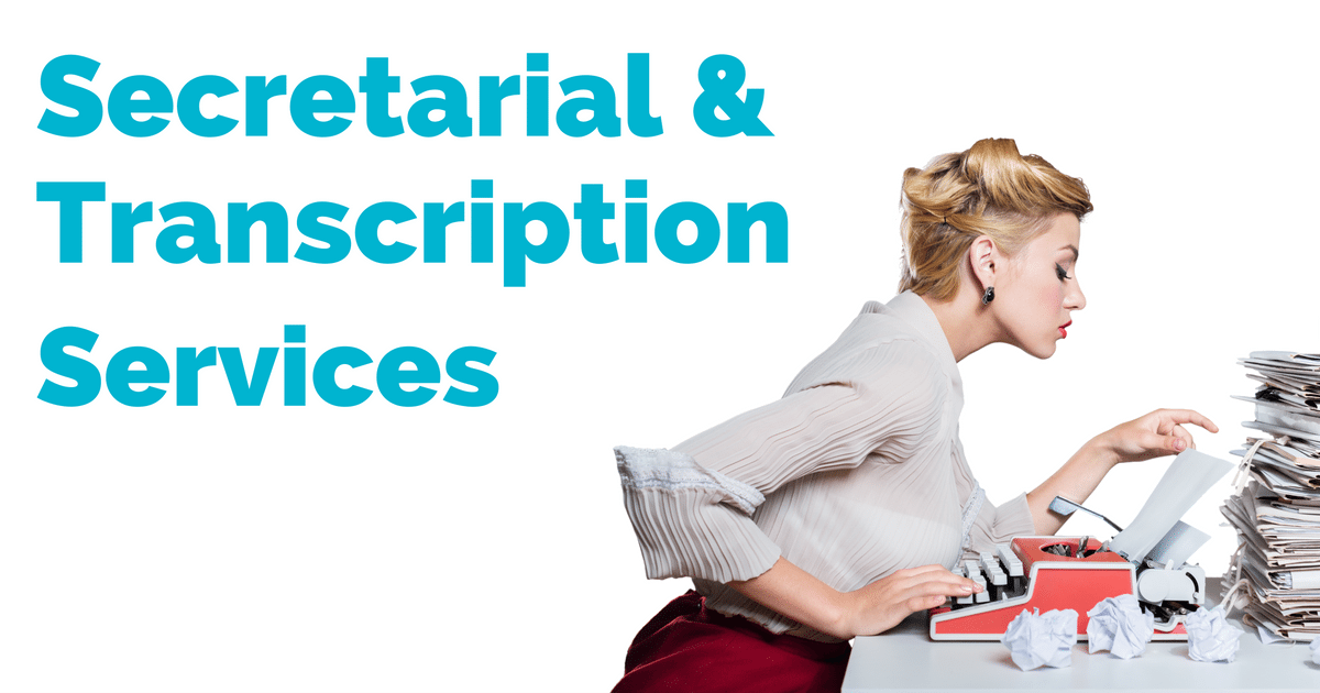 secretarial and transcription services | © one-resource.com
